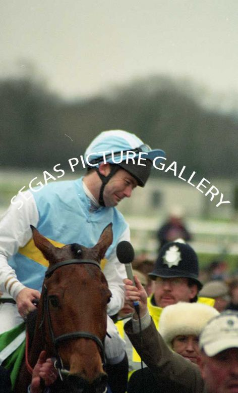 Racehorse Hardy Eustace with Jockey Conor O'Dwyer